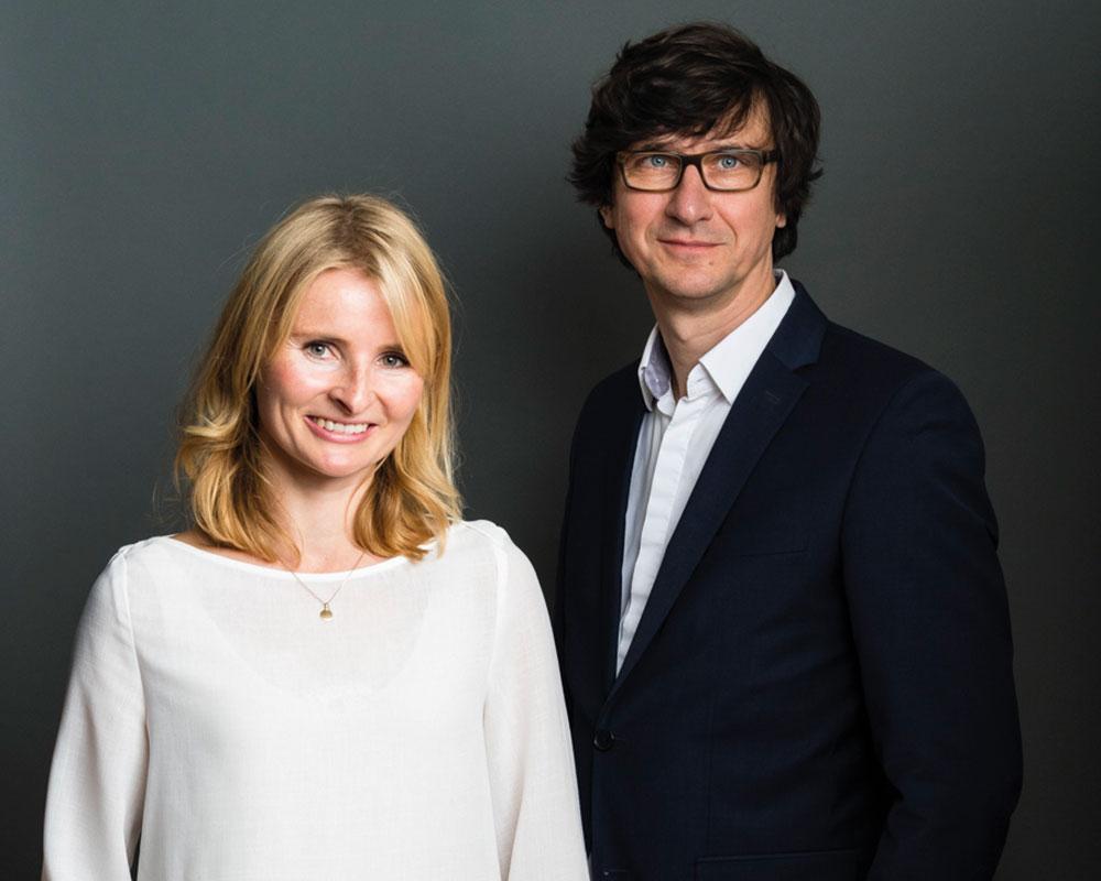 Impressum: Die Gesellschafter von der LeFee Werbeagentur Friederike Frühling und Martin Feemers