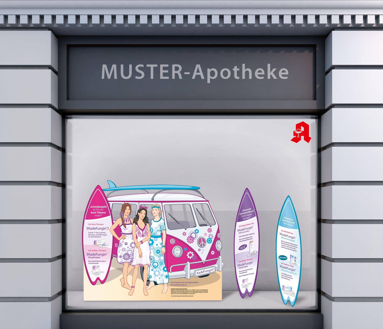 Apotheken-PoS-Kampagne KadeFungin®