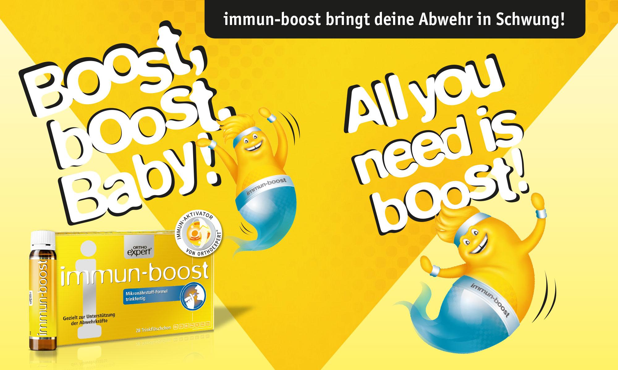 Referenz immunboost Song-Kampagne