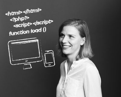 Web-Entwicklerin